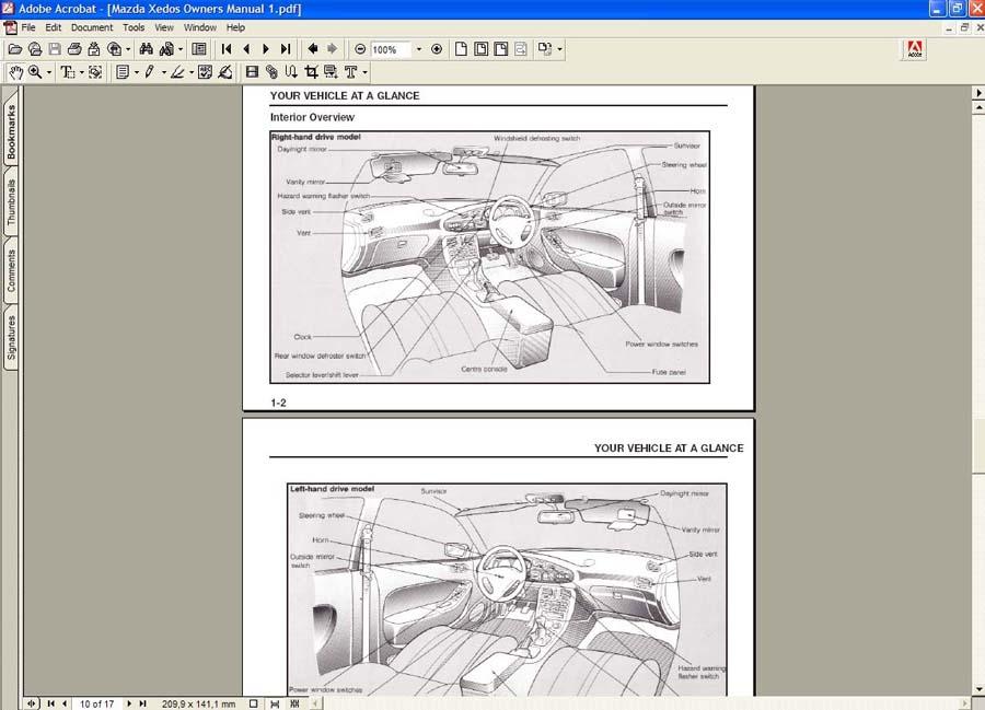 Скачать Mazda Xedos 6